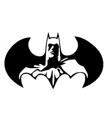 Bat 1 samolepka na auto