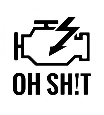 Ne elektřinu samolepka na auto