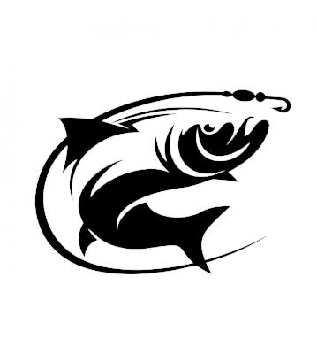 Ryba 1 samolepka na auto
