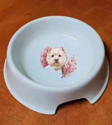 Porcelánová miska pro psy Westík