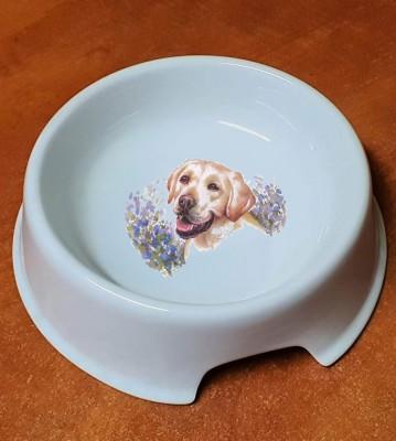 Porcelánová miska pro psy Labrador