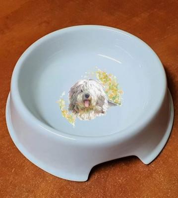Porcelánová miska pro psy Bobtail