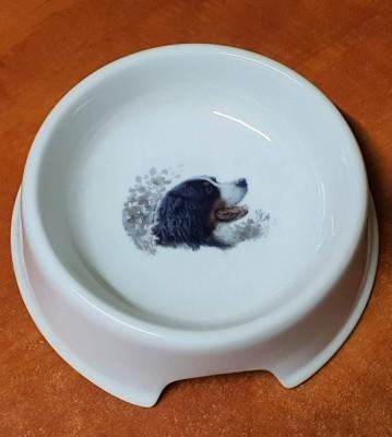 Porcelánová miska pro psy Bernský salašnický pes