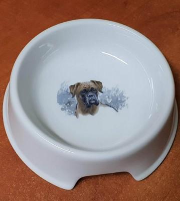 Porcelánová miska pro psy Boxer