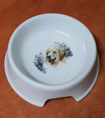 Porcelánová miska pro psy Retrívr