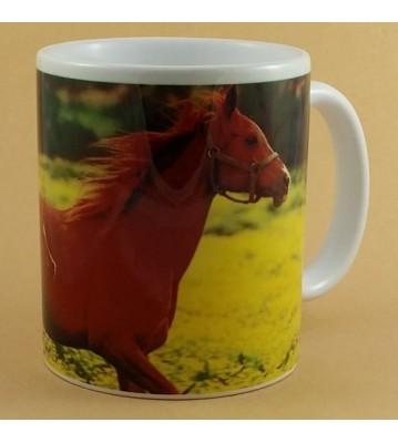 Hrnek Koně v běhu