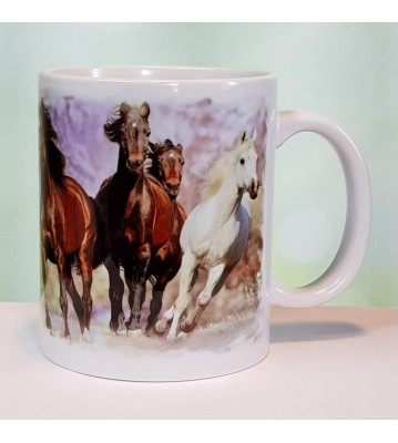 Hrnek Stádo koní