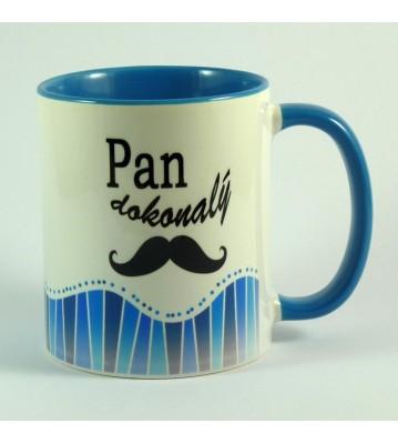 Hrnek modrý Pan dokonalý