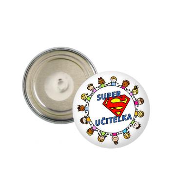 Placka magnetka Super učitelka