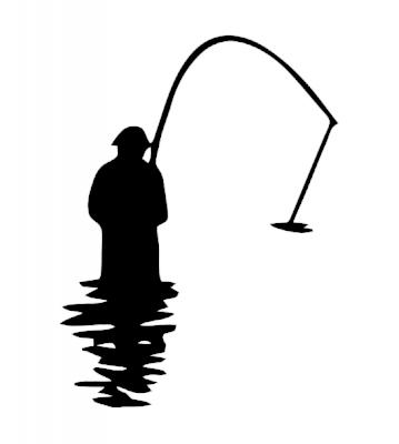 Rybář 1 samolepka na auto