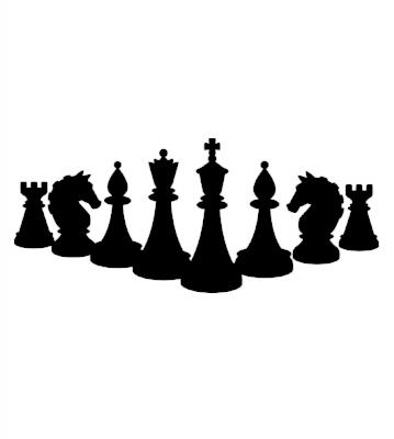 Šachy samolepka na auto
