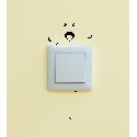 Samolepka k vypínači - zásuvce Pejsek