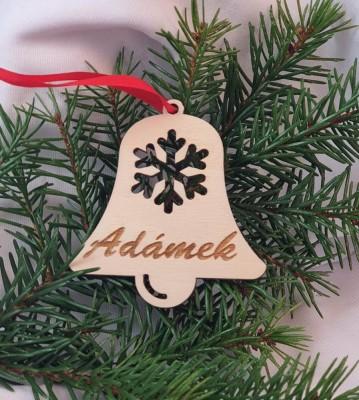 Vánoční zvoneček se jménem