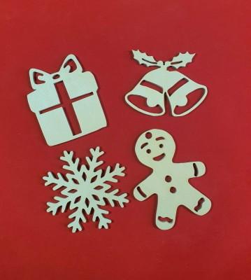 Vánoční ozdoby sada 4 ks verze 1