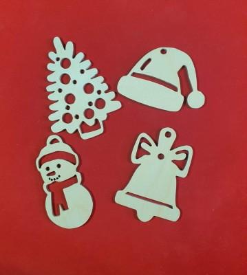 Vánoční ozdoby sada 4 ks verze 2