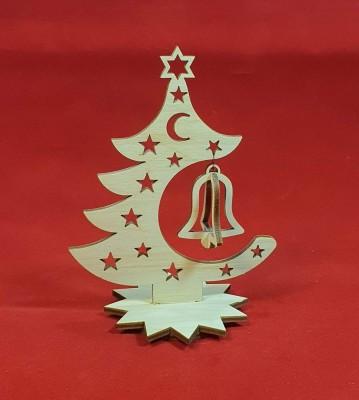 Vánoční stromeček se zvonkem