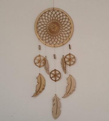 Lapač snů dřevěný Mandala