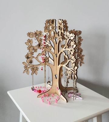 Stojan na šperky Strom života