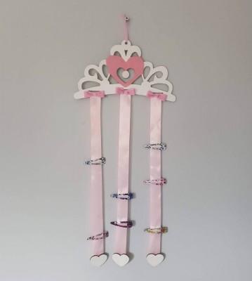 Věšáček na sponky Princeznina korunka