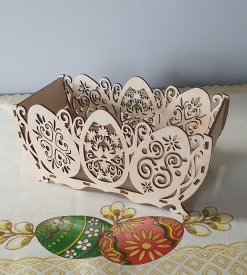 Velikonoční košík dřevěný