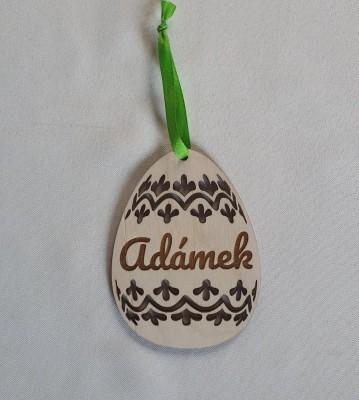 Velikonoční vajíčko se jménem