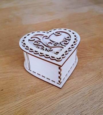 Krabička Srdce s víčkem