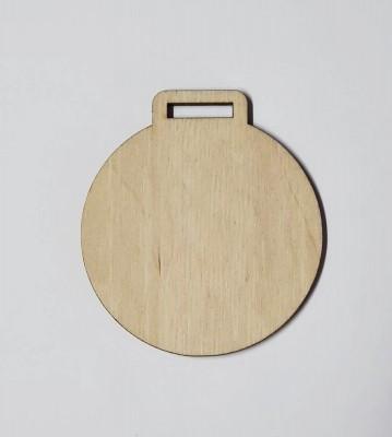 Medaile dřevěná kulatá polotovar , balení 30 ks nebo 50 ks