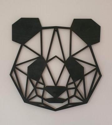 Dřevěná hlava Pandy
