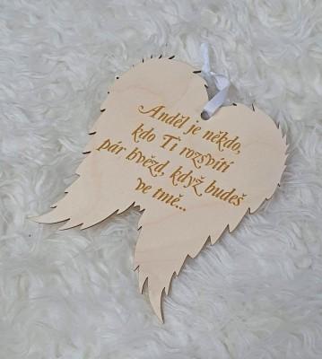 Křídla anděla Anděl je někdo
