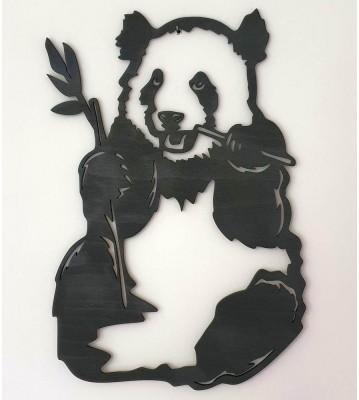 Panda sedící obraz