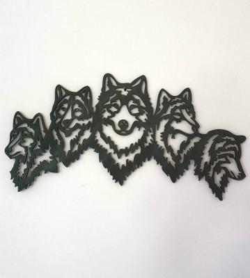 Pět vlků obraz