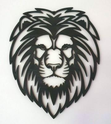Lev hlava obraz
