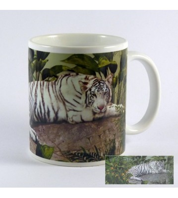 Hrnek Bílý tygr