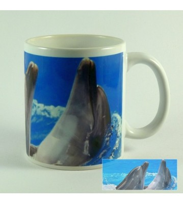 Hrnek Delfíni