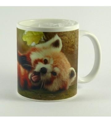 Hrnek Panda červená