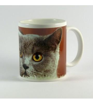 Hrnek Kočka šedá