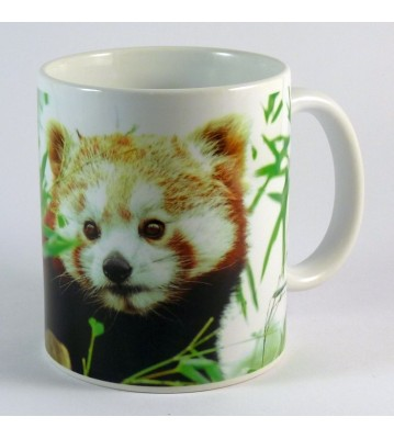 Hrnek Panda červená 2