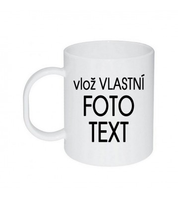 Plastový hrnek s Vaší fotkou 0,3 l