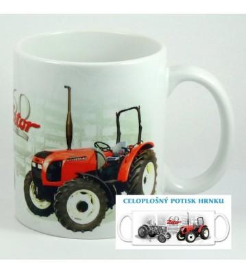 Hrnek s traktorem 1